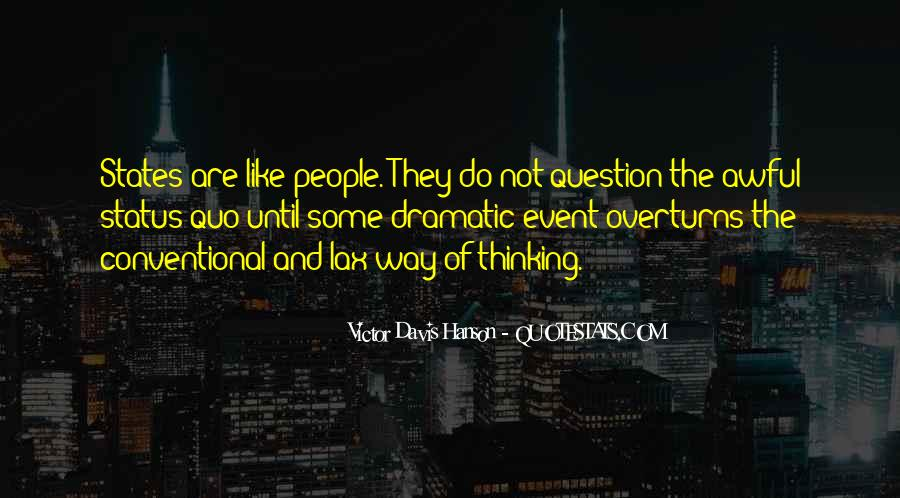 Quotes About Status Quo #300826