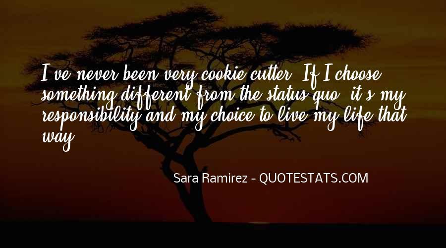 Quotes About Status Quo #336649