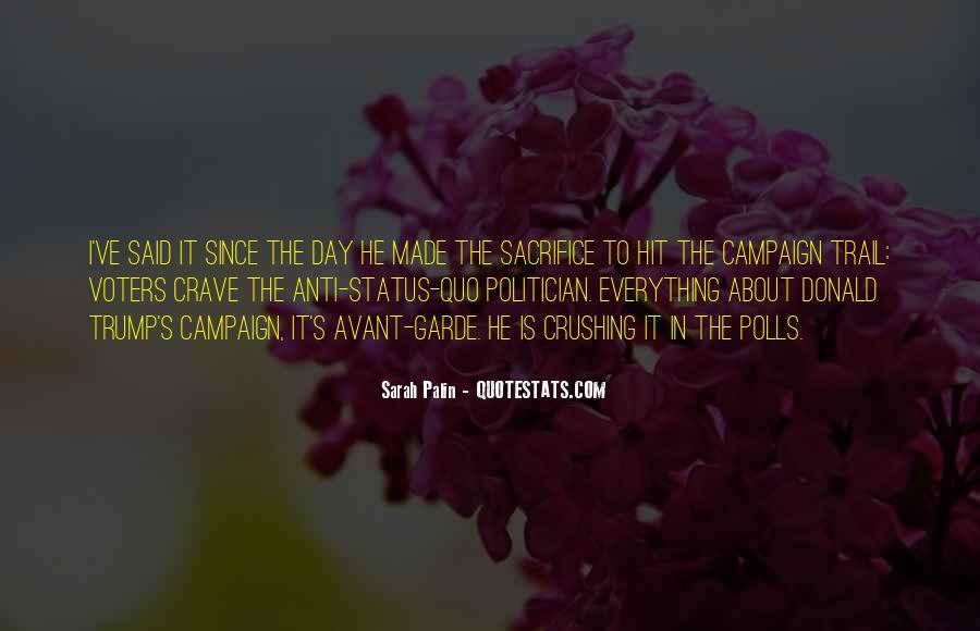 Quotes About Status Quo #353386