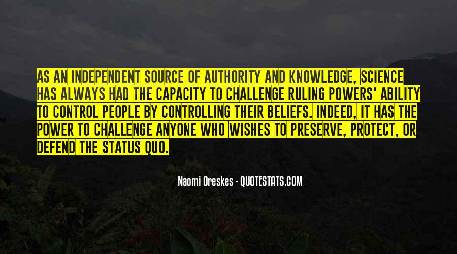 Quotes About Status Quo #359060