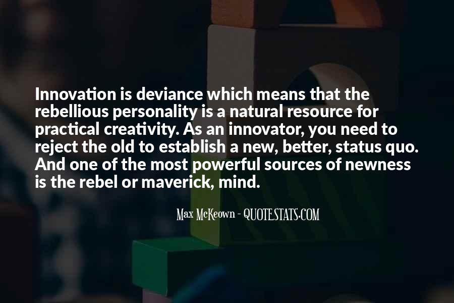 Quotes About Status Quo #365983