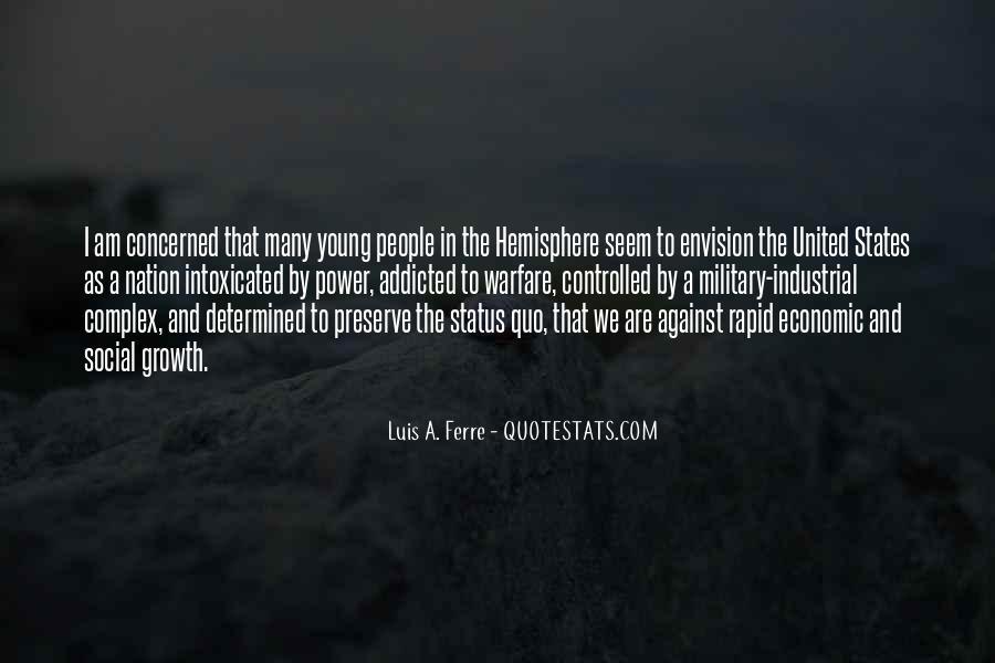 Quotes About Status Quo #373387