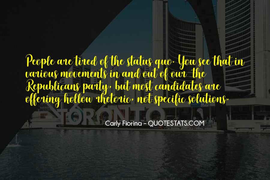 Quotes About Status Quo #45010