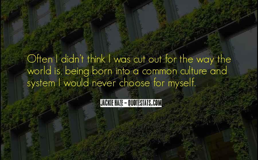 Quotes About Status Quo #45686