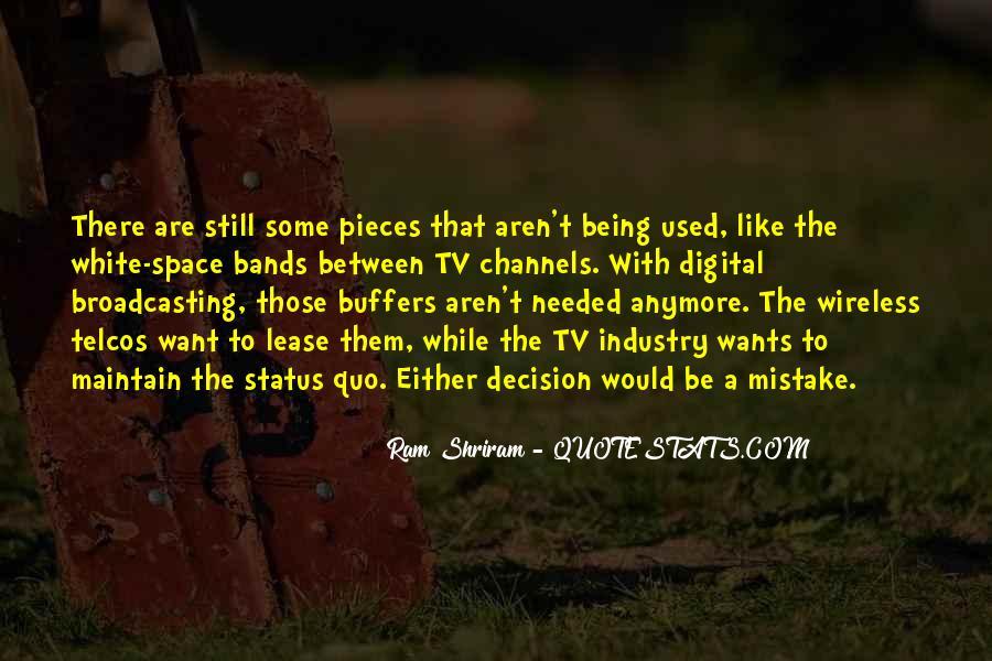 Quotes About Status Quo #48466