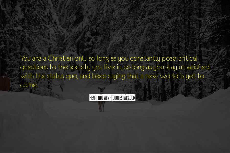 Quotes About Status Quo #75000