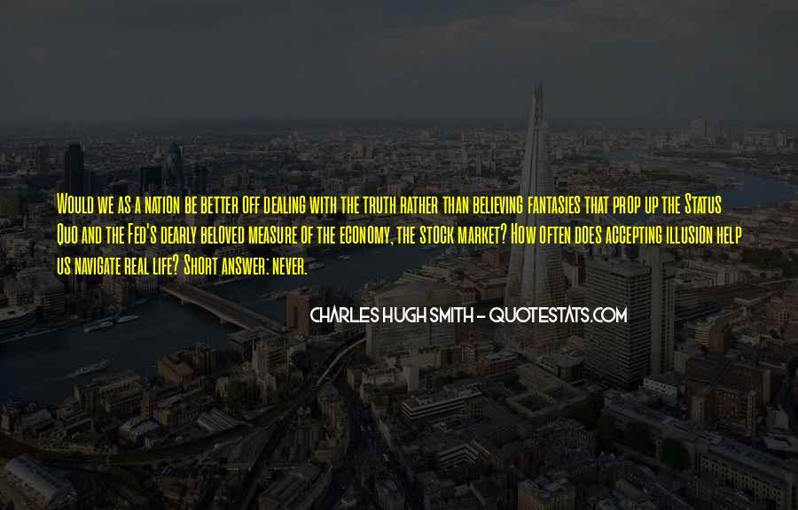 Quotes About Status Quo #96086