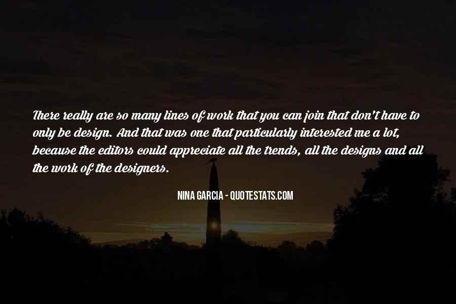 Quotes About Design Trends #233565