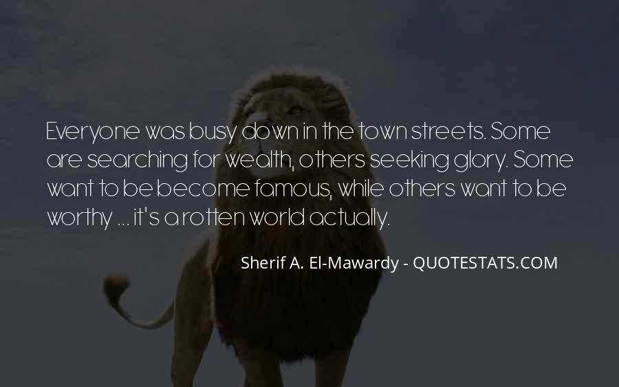 Quotes About Busy Streets #384145