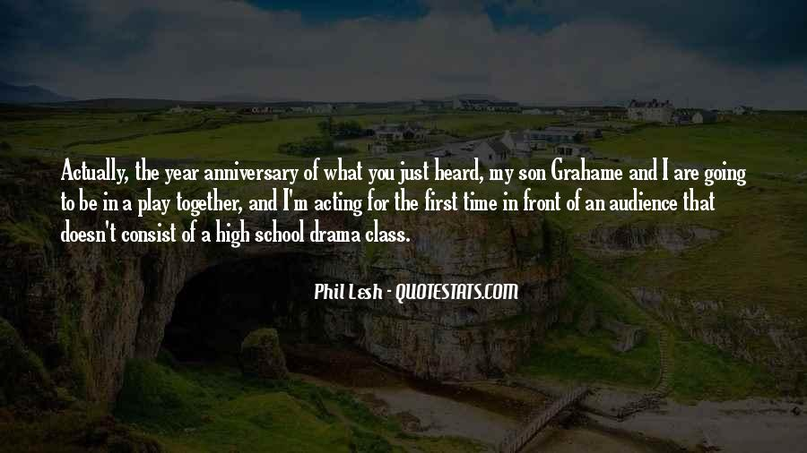 Quotes About One Year Anniversary #1261679