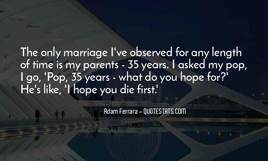 Quotes About 35 Years Of Marriage #254134