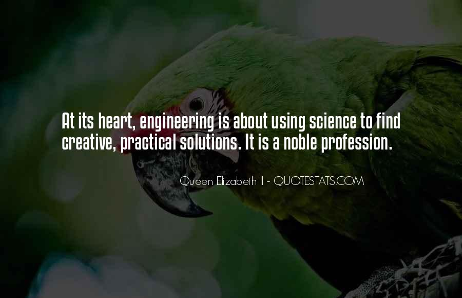 Quotes About Engineering Profession #1873294