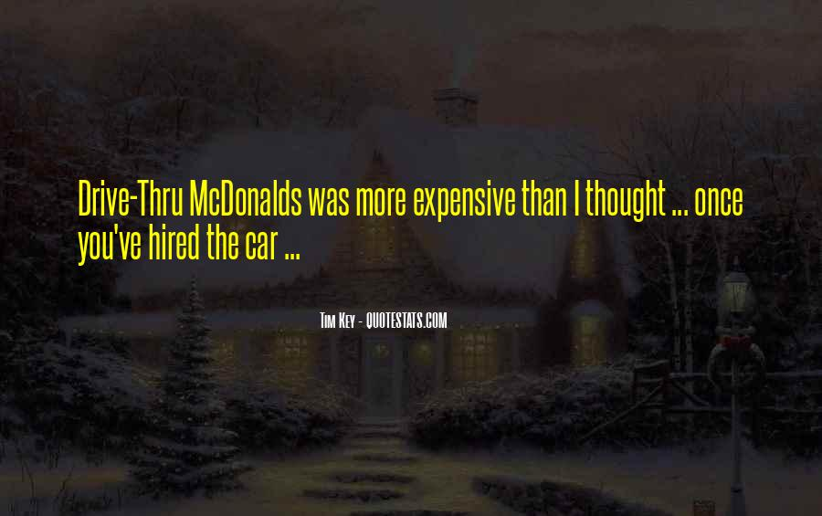 Quotes About Drive Thru #1107401