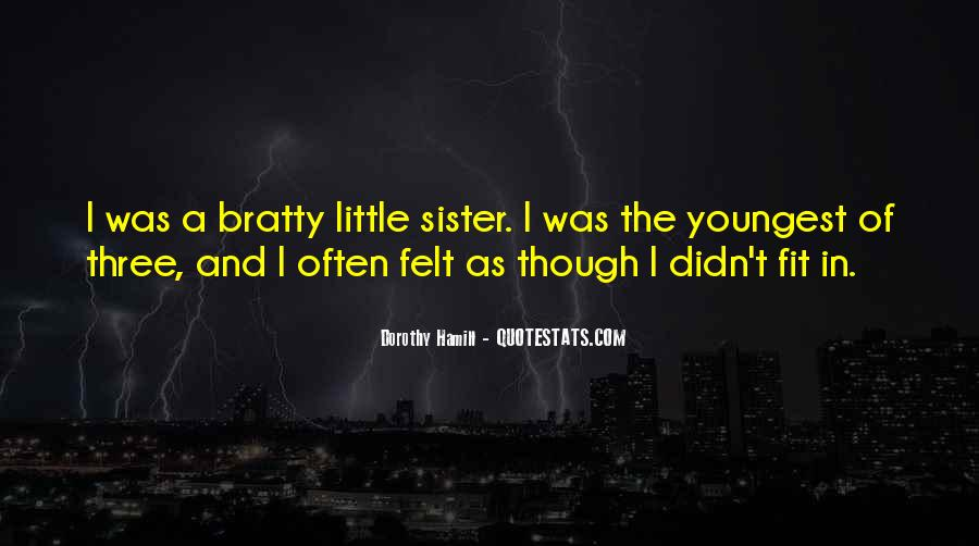 Quotes About Youngest Sister #1709060