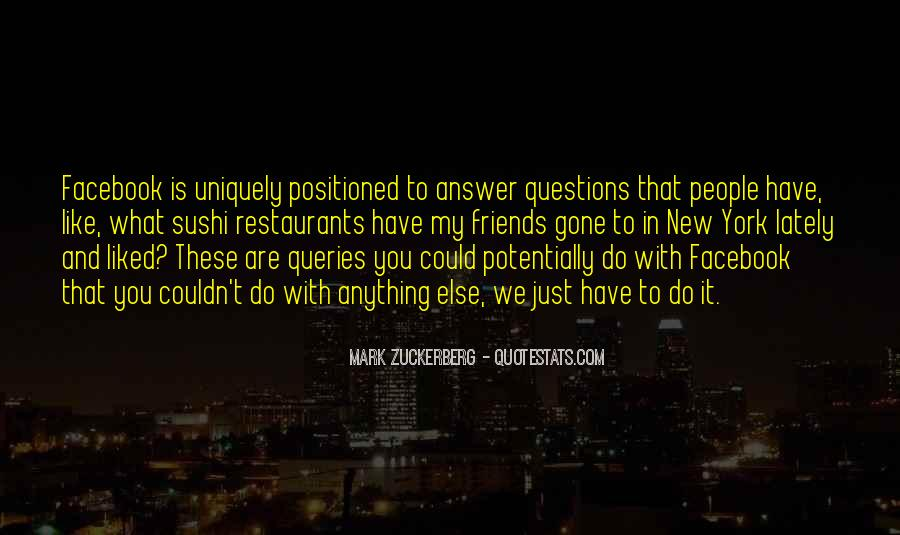 Quotes About Queries #589008