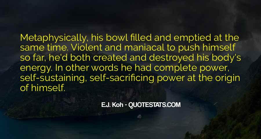 Quotes About Sacrificing #121203