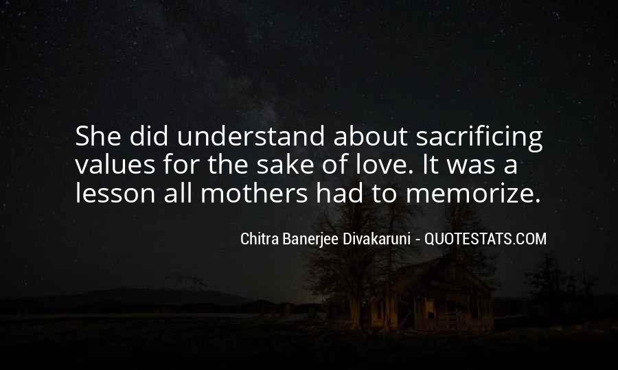 Quotes About Sacrificing #178398