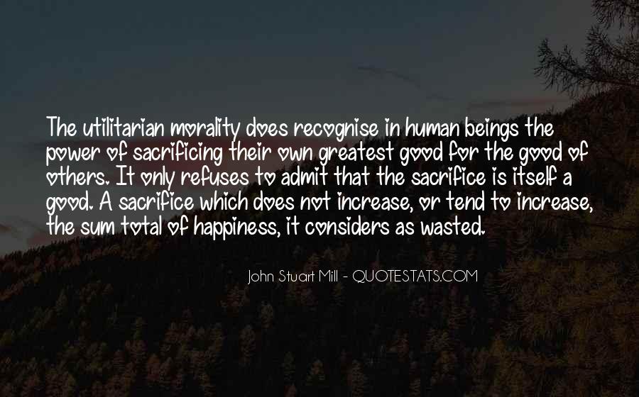 Quotes About Sacrificing #188320