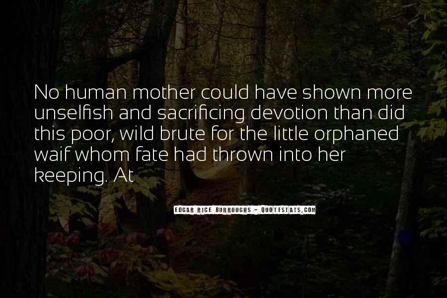 Quotes About Sacrificing #204166