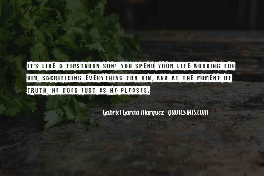 Quotes About Sacrificing #213262