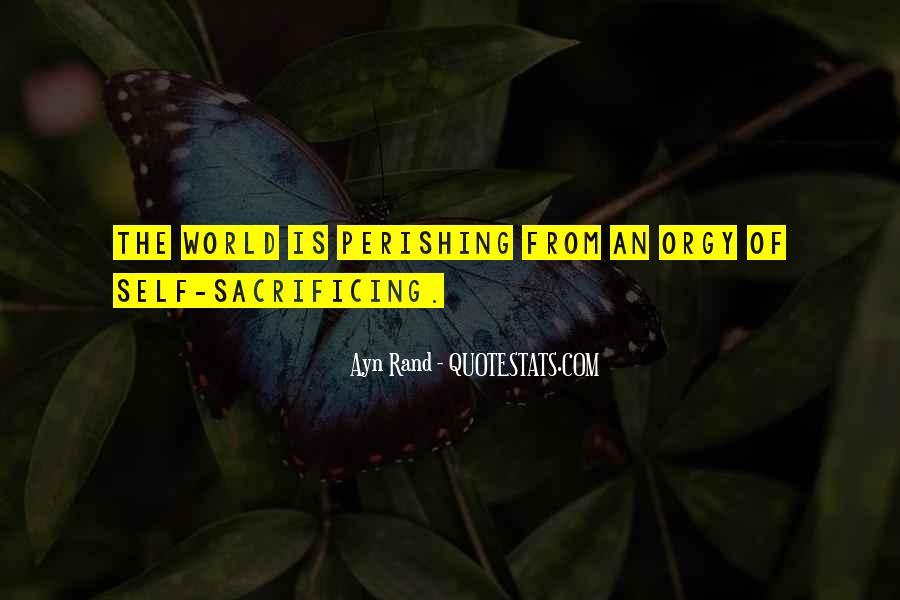 Quotes About Sacrificing #220173