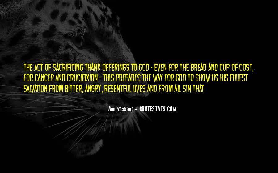 Quotes About Sacrificing #280615