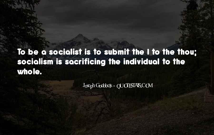 Quotes About Sacrificing #327562