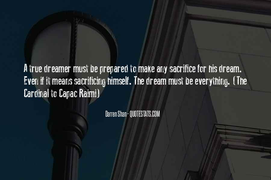 Quotes About Sacrificing #330572