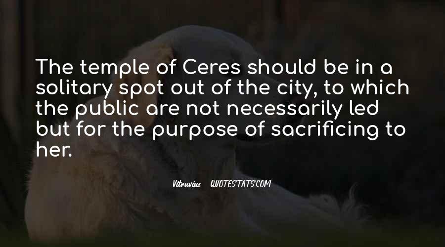Quotes About Sacrificing #362846