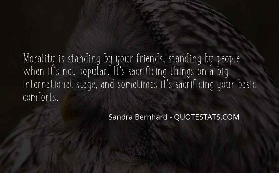 Quotes About Sacrificing #40840