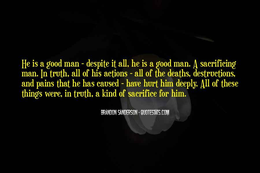 Quotes About Sacrificing #415467
