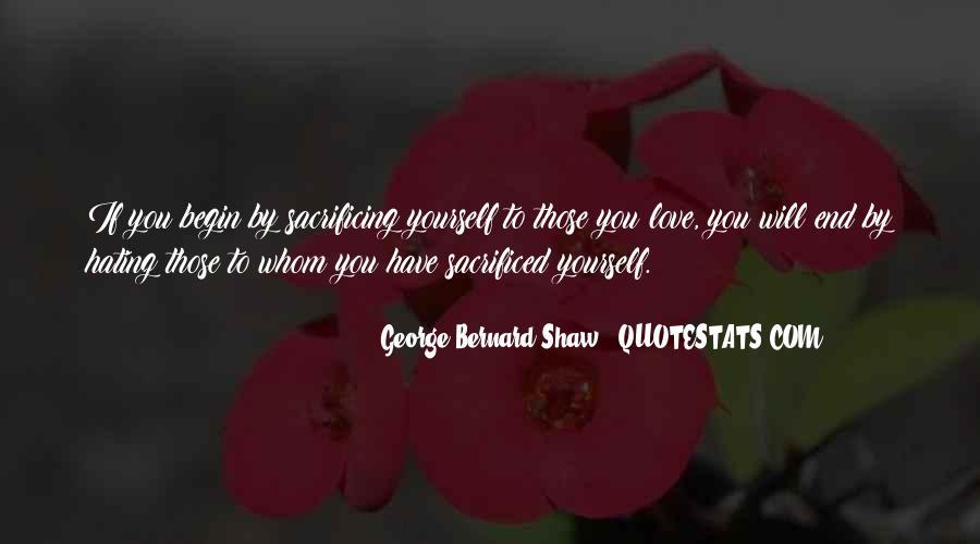 Quotes About Sacrificing #421602