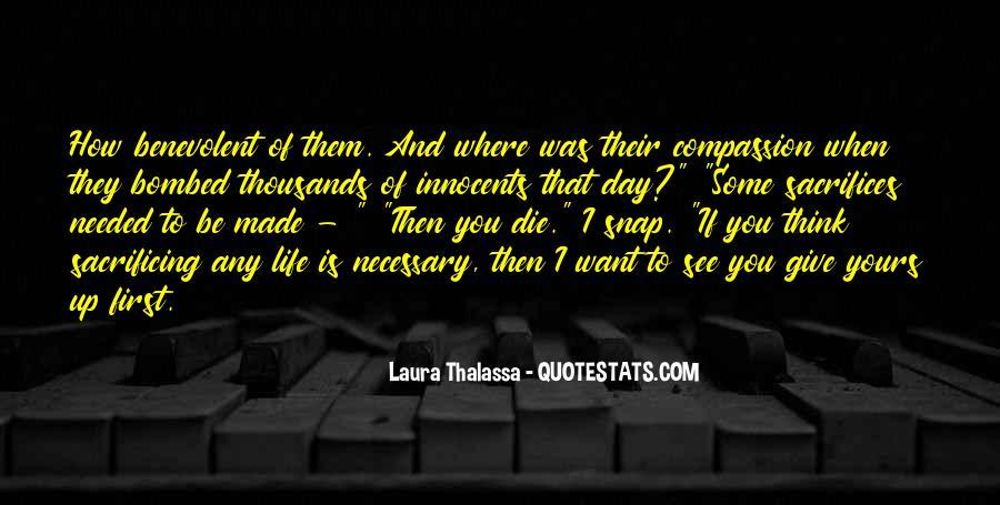 Quotes About Sacrificing #436809