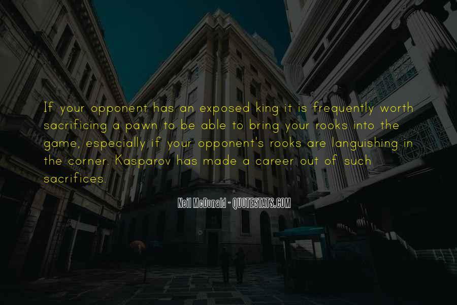 Quotes About Sacrificing #495115