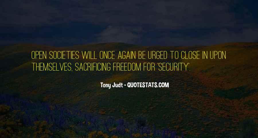 Quotes About Sacrificing #504027