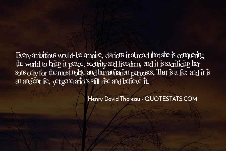 Quotes About Sacrificing #516794