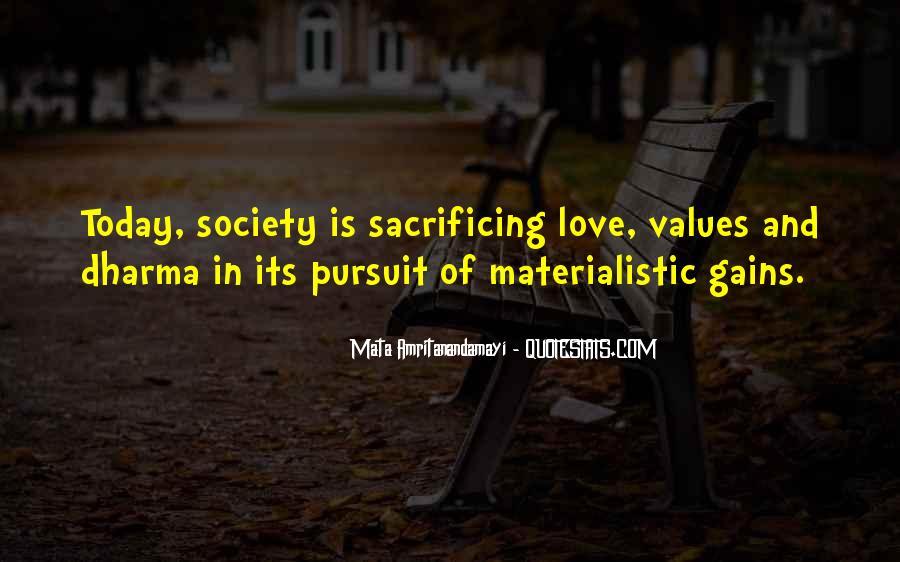 Quotes About Sacrificing #522515