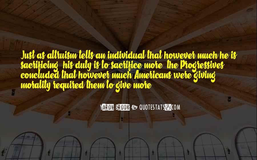 Quotes About Sacrificing #52915