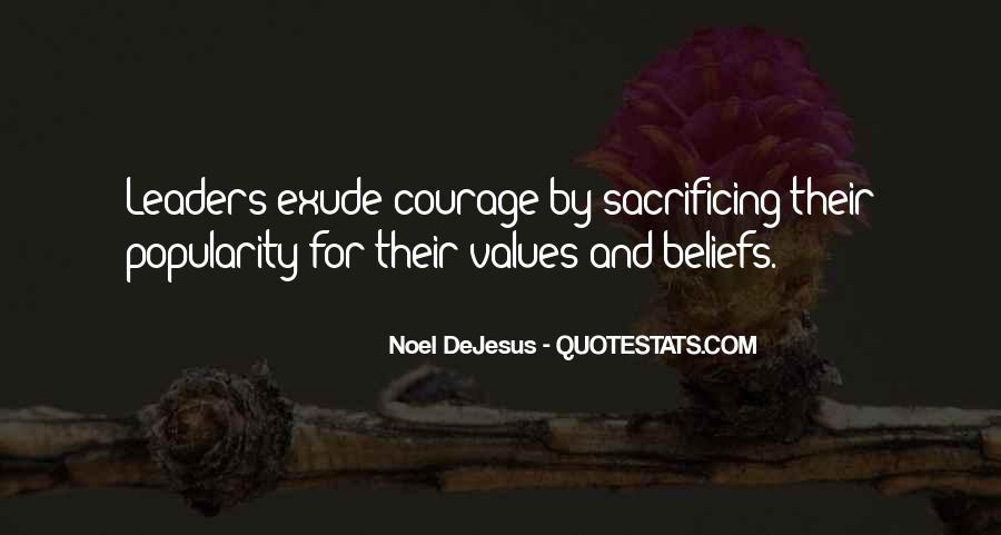 Quotes About Sacrificing #540562