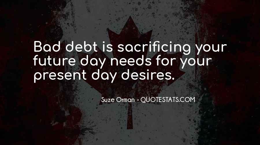 Quotes About Sacrificing #596176