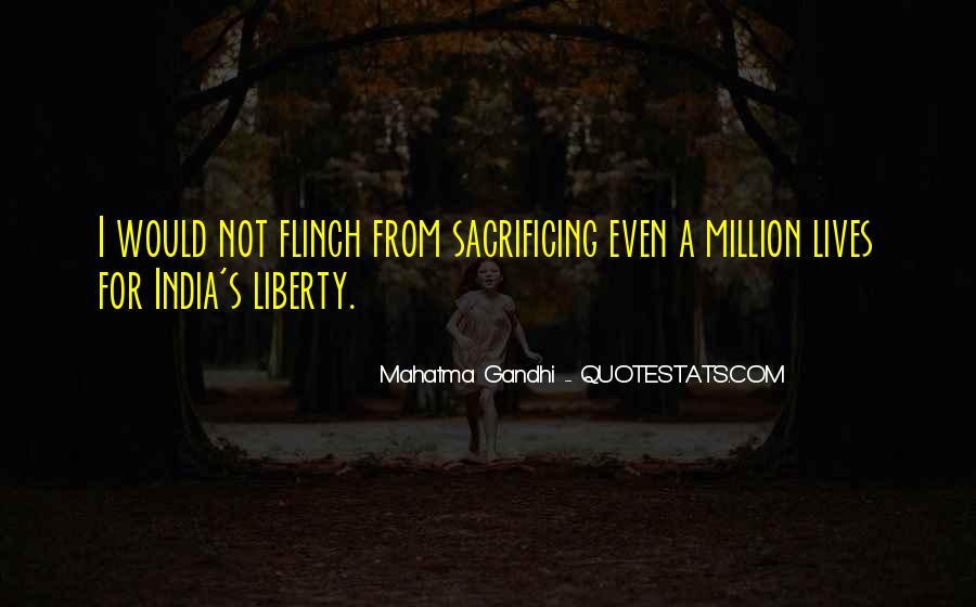 Quotes About Sacrificing #635063