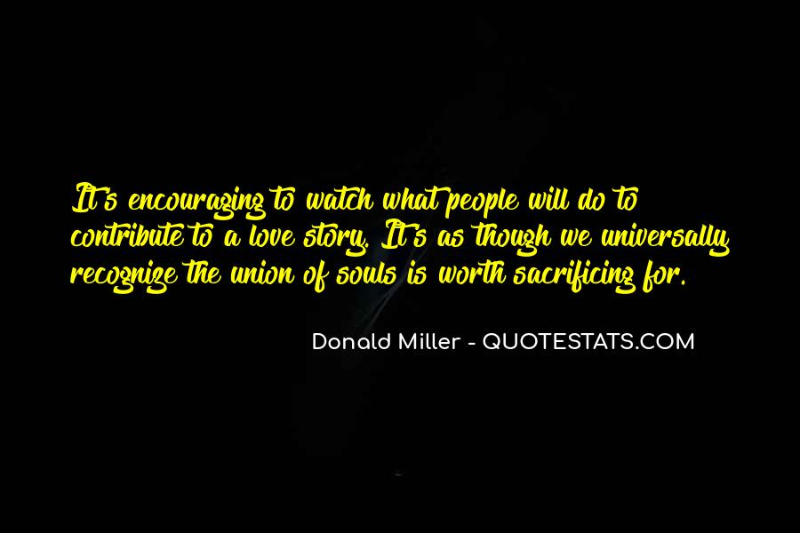 Quotes About Sacrificing #64733