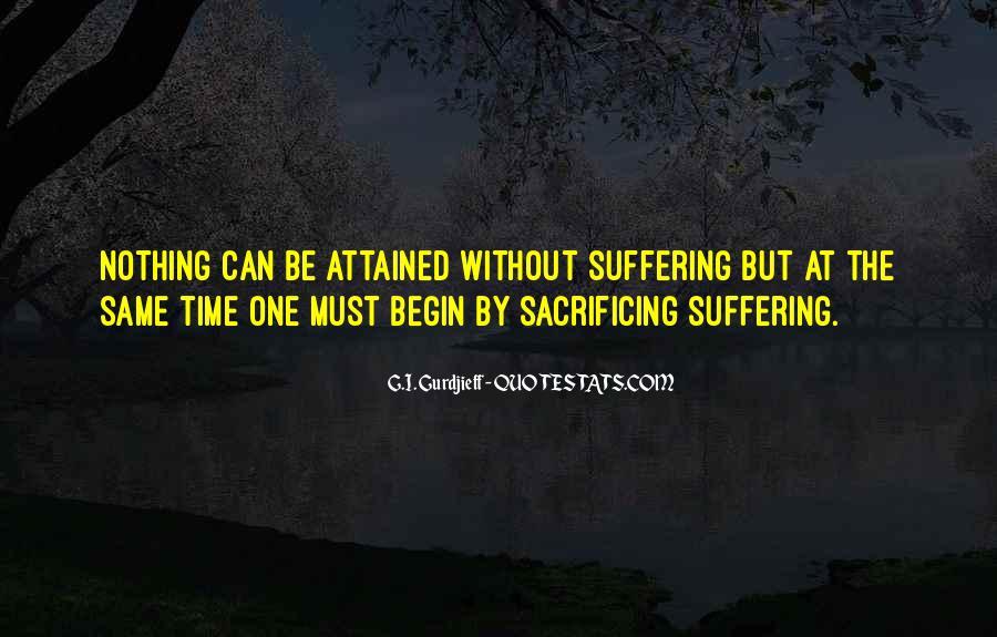 Quotes About Sacrificing #671961