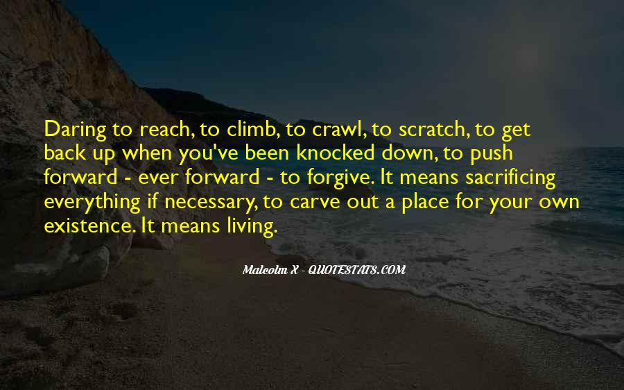 Quotes About Sacrificing #685785