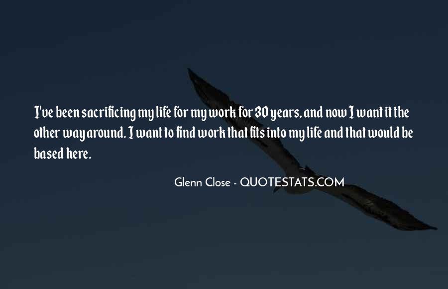 Quotes About Sacrificing #693990