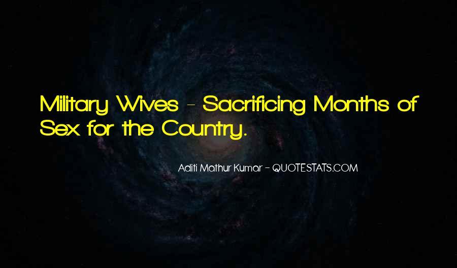 Quotes About Sacrificing #716233