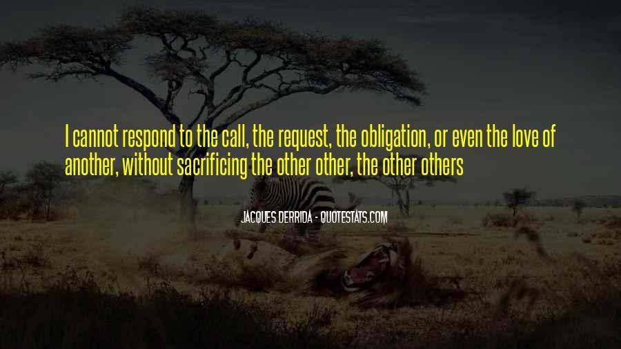 Quotes About Sacrificing #84281