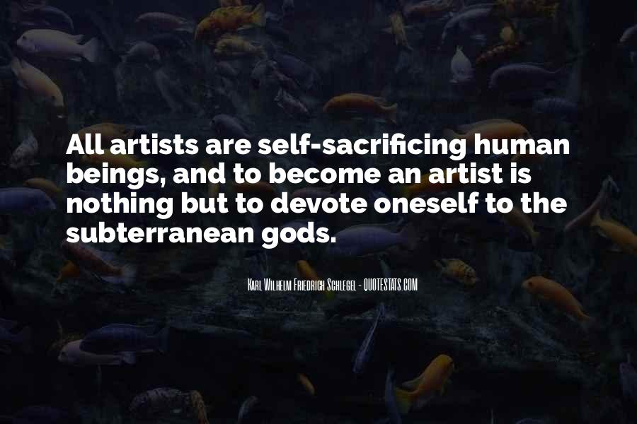 Quotes About Sacrificing #95864
