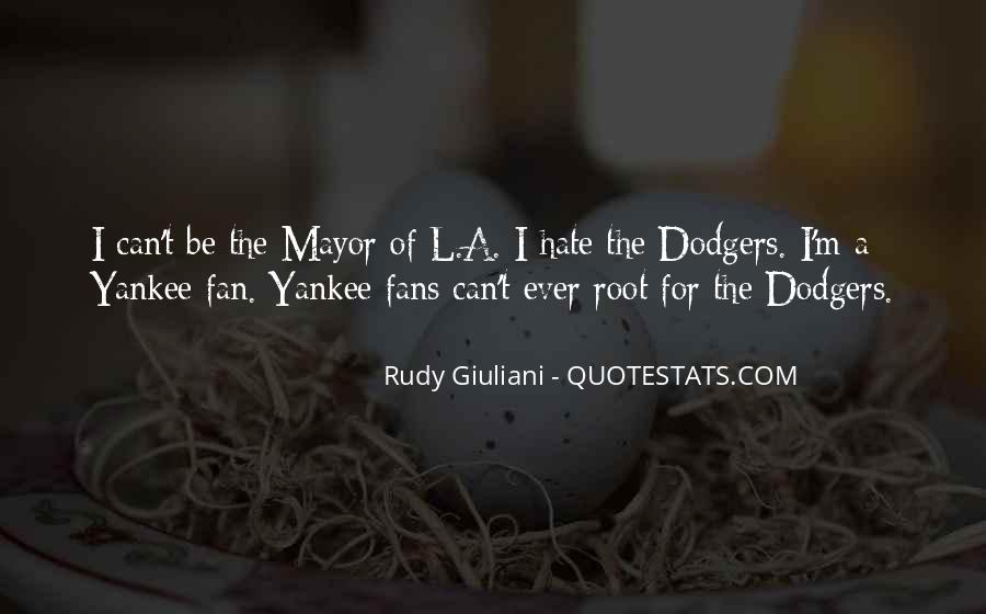 Quotes About Yankee Fans #437297