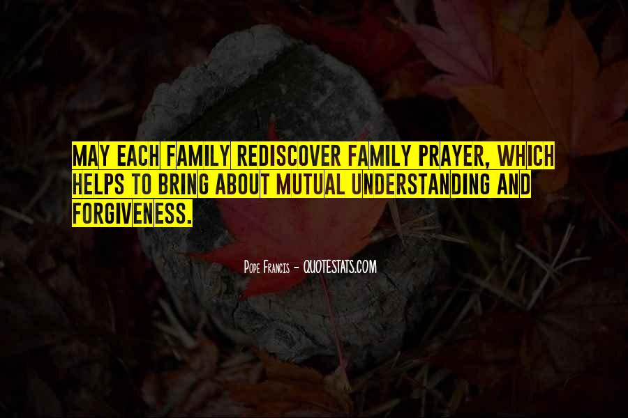 Quotes About Prayer For Family #1094219